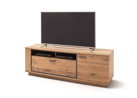 MCA Tv-alus CAMPINAS tamm Bianco, 180x50xH61 cm