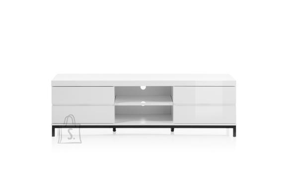 MCA Tv-alus GRENOBLE valge kõrgläige, 165x40xH47 cm