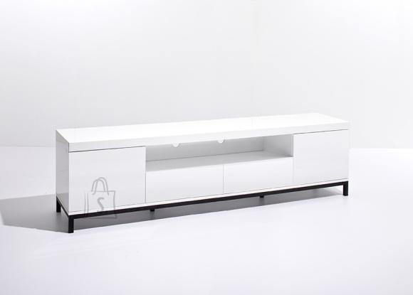 MCA Tv-alus GRENOBLE valge kõrgläige, 190x40xH47 cm