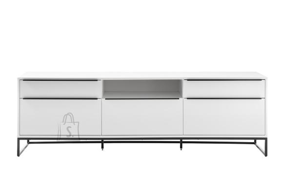 MCA Tv-alus LILLE mattvalge, 215x40xH69 cm