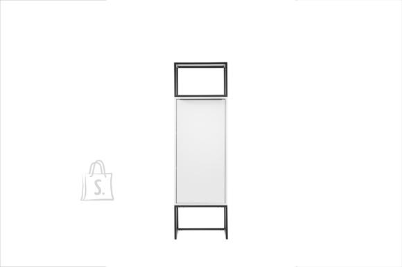MCA Kapp LILLE mattvalge, 50x40xH165 cm