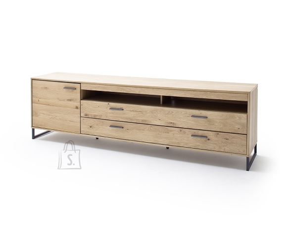 MCA Tv-alus PORTLAND tamm Bianco, 224x50xH67 cm