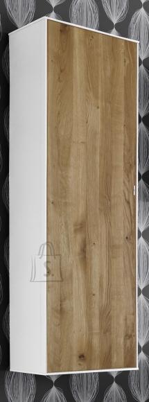 Mäusbacher Möbelfabrik Seinakapp ARIZONA valge / metsik tamm, 38x32xH137 cm