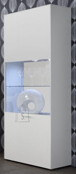 Mäusbacher Möbelfabrik Vitriinkapp ARIZONA valge, 60x42xH189 cm