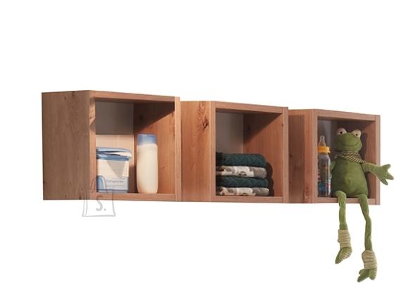 Mäusbacher Möbelfabrik Seinariiulite komplekt CORDULA metsik tamm, 29x20x29 cm