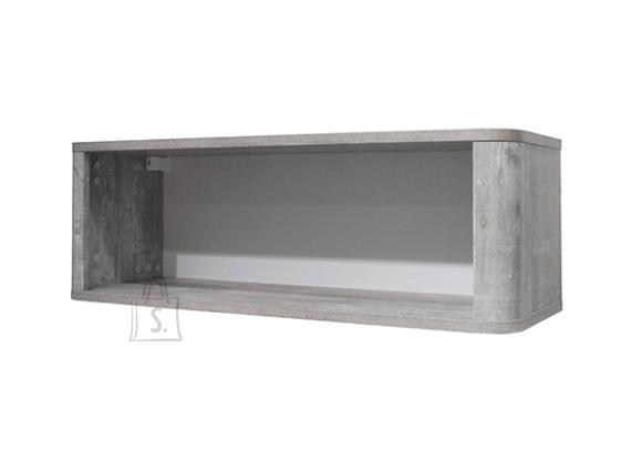 Mäusbacher Möbelfabrik Seinariiul FRIEDA mattvalge / hall puit, 90x32xH31 cm