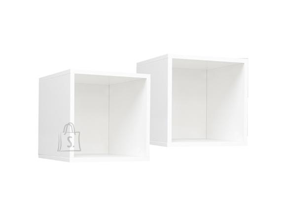 Mäusbacher Möbelfabrik Seinariiulite komplekt MIX BOX - 2 viimistlust, 35x27xH42 cm
