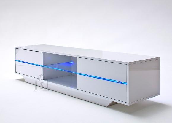 MCA Tv-alus BLUES valge, 160x40xH36 cm, LED