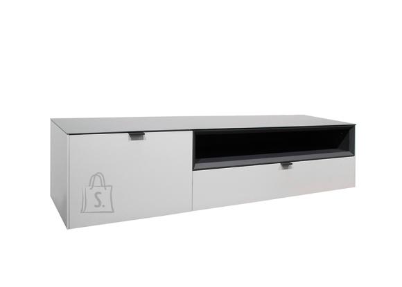 Mäusbacher Möbelfabrik Tv-alus MICELLI valge / antratsiit, 177x41xH41 cm