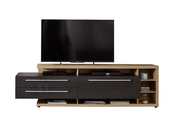 Trendteam TV-alus ODINO tamm / hall, 210x40xH62 cm LED