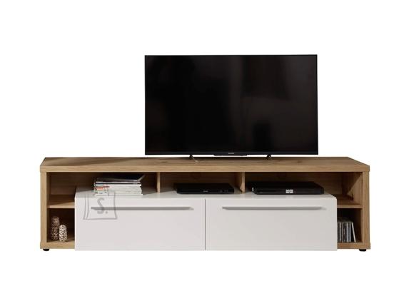 Trendteam TV-alus ODINO tamm / valge, 213x44xH53 cm LED