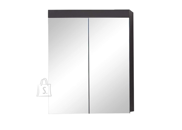 Trendteam Peegelkapp AMANDA hall läige, 60x17xH77 cm LED