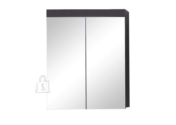 Trendteam Peegelkapp AMANDA hall läige, 60x17xH77 cm LED 36 cm