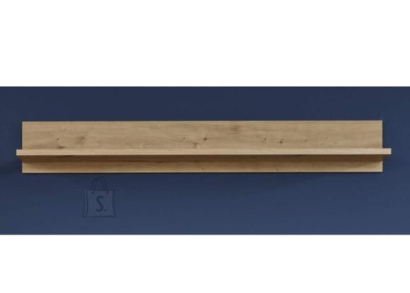 Trendteam Seinariiul AMANDA metsik tamm, 140x20xH20 cm