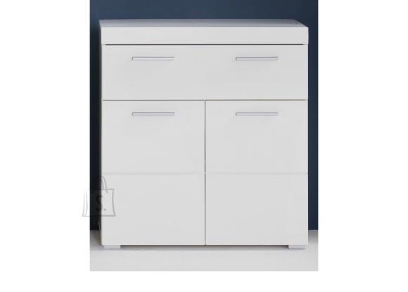 Trendteam Vannitoakapp AMANDA valge kõrgläige / valge, 73x31xH79 cm