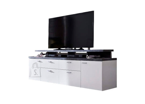 Trendteam TV-alus MOOD valge, 180x44xH65 cm