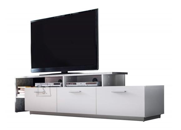 Trendteam Tv-alus STREAM valge / hall, 195x43xH48 cm