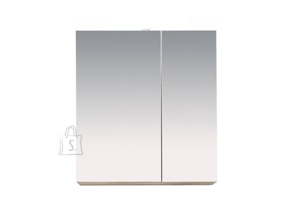 Trendteam Peegelkapp Porto valge, 65x21xH70 cm