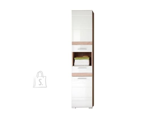 Trendteam Vannitoakapp SET-ONE valge läige, 37x31xH182 cm