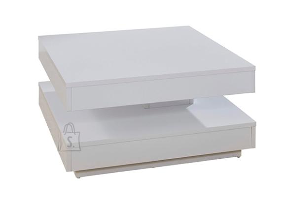 Trendteam Diivanilaud TRENDTEAM valge, 70x70xH35 cm