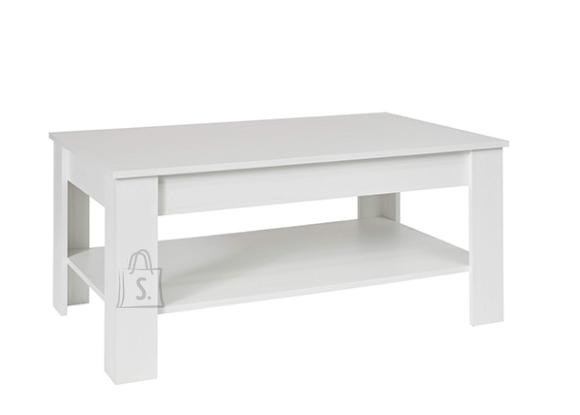 Trendteam Diivanilaud TRENDTEAM valge mänd, 110x67xH49 cm