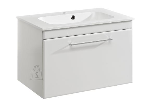 Pelipal Valamukapp + valamu SEO valge läige, 77x50xH54 cm