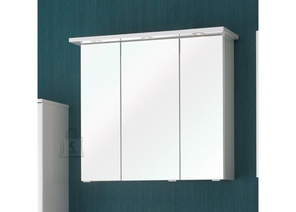 Pelipal Peegelkapp CARINA valge läige, 75x20xH70 cm, LED