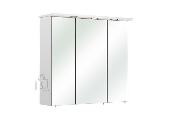 Pelipal Peegelkapp CARINA valge läige, 75x20xH72 cm, LED