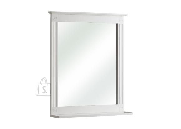 Pelipal Peegel riiuliga MAXIM valge, 60x13xH69 cm