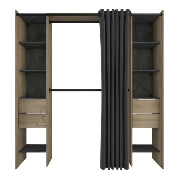 Demeyere Garderoobisüsteem DANA tamm, 115-190x50xH203 cm