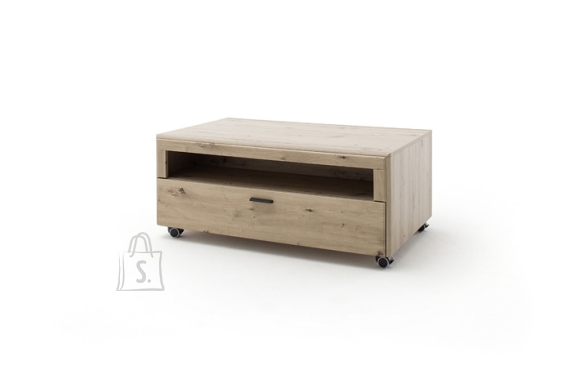 MCA Diivanilaud CALAIS tamm / tumehall, 115x72xH49 cm