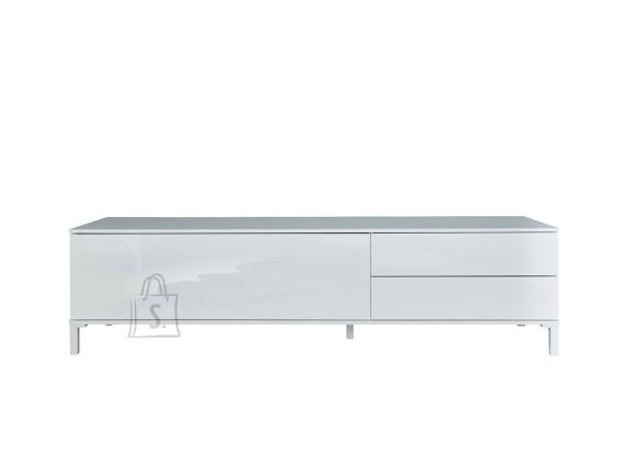 Trendteam Tv-alus SHELDON valge läige, 160x34xH40 cm