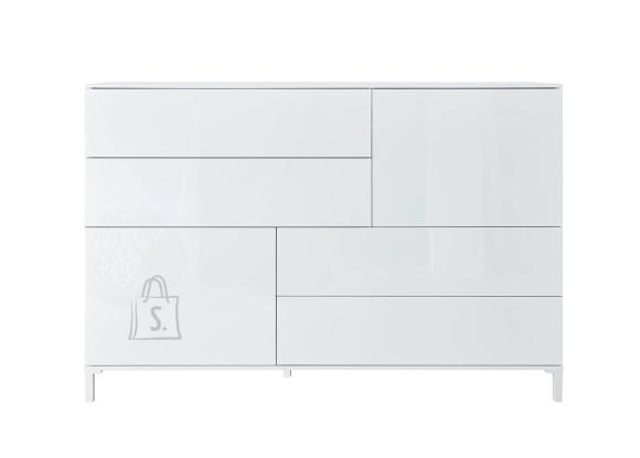 Trendteam Kummut SHELDON valge läige, 150x40xH100 cm