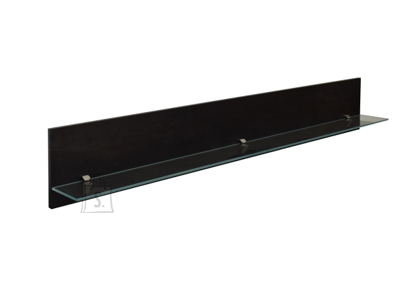 Seinariiul MAILO must, 165x17xH25 cm