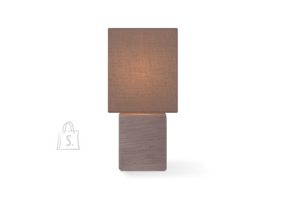 Home Sweet Home Lauavalgusti CHARM pruun, 13x13xH30 cm, E14