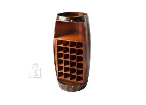 Veiniriiul BODEGA kohvipruun, 51x51xH97 cm
