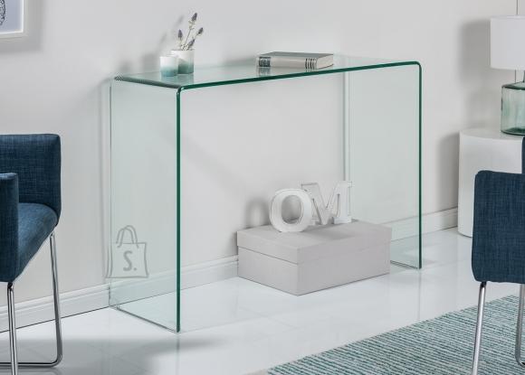 Kirjutuslaud FANTOME klaas, 100x35xH75 cm