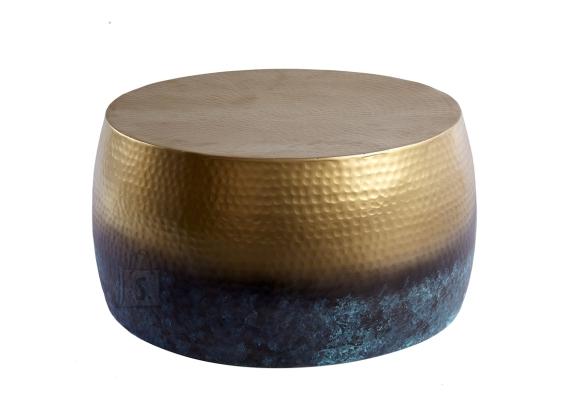 Diivanilaud ORIENT III põletatud kuld, 60x60xH31 cm