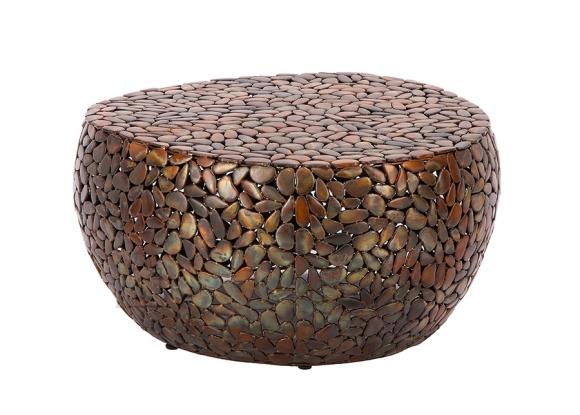 Diivanilaud STONE MOSAIC vask, 80x85xH38 cm