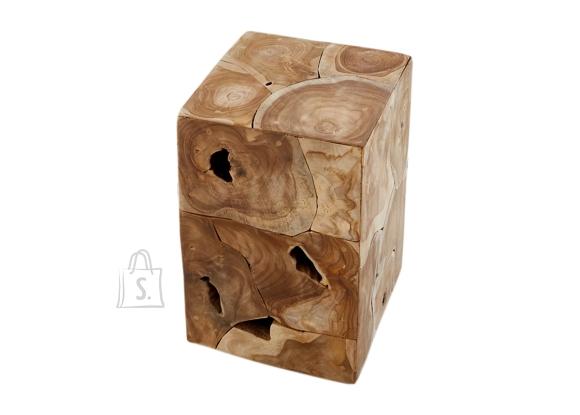 Abilaud SQUARE tiigipuu, 30x30xH45 cm