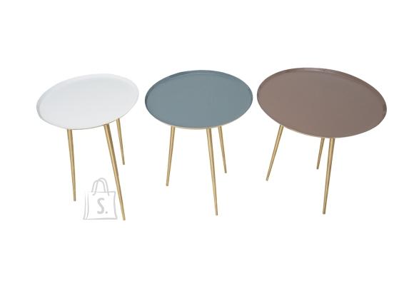 Abilaudade komplekt THREE WAYS pastelne / kuldne