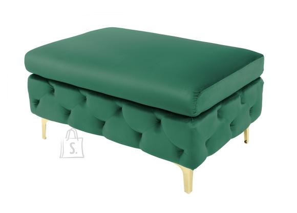 Tumba MODERN BAROQUE roheline, 90x63xH45 cm