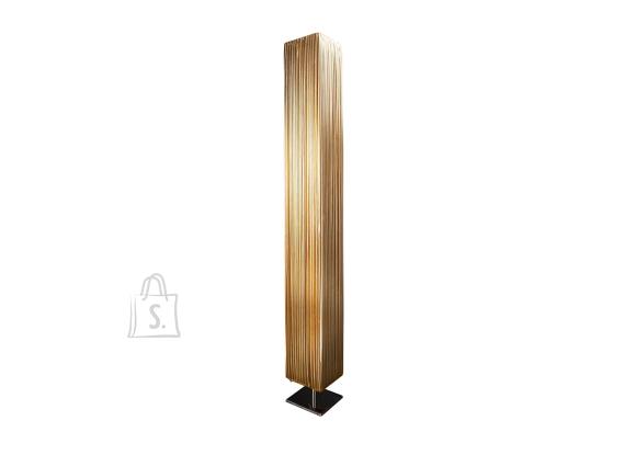 Põrandavalgusti PARIS kuldne / hõbe, 15x15xH120 cm, E27