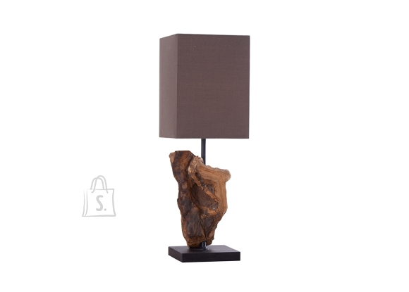 Lauavalgusti HYPNOTIC pruun, 15x15xH45 cm, E14