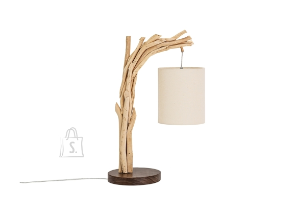 Lauavalgusti WILD NATURE pruun / valge, 38x20xH60 cm, E27