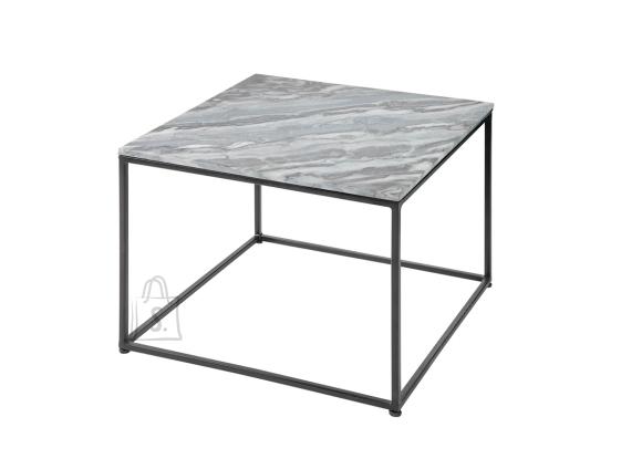 Diivanilaud ELEMENTS hall marmor, 50x50xH41 cm