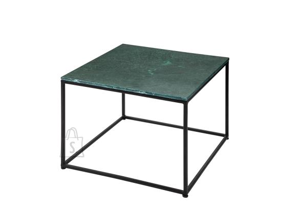 Diivanilaud ELEMENTS roheline marmor, 50x50xH41 cm