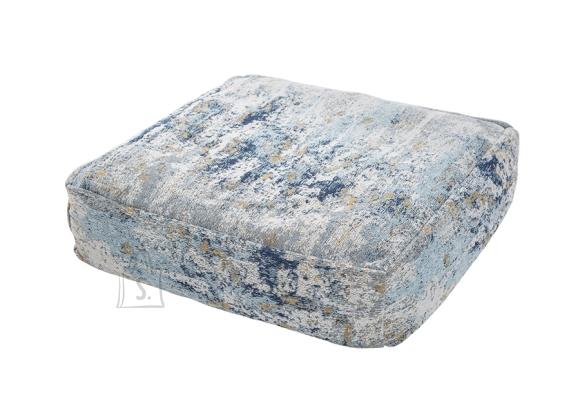 Põrandapadi ABSTRACT sinine / beež, 70x70xH20 cm