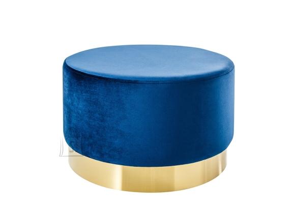 Tumba MODERN BAROQUE sinine, 55x55xH35 cm