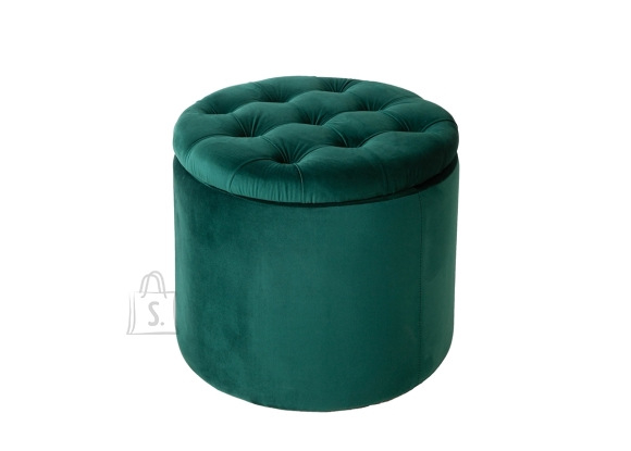 Tumba panipaigaga MODERN BAROQUE roheline, 50x50xH43 cm